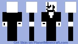 W.D. Gaster Minecraft Skin