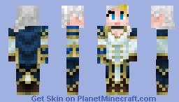 Jaina Proudmoore - WoM #5 Minecraft Skin