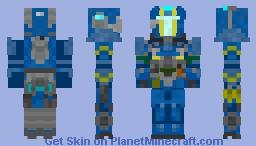 Titanfall 2 Holo Pilot Minecraft Skin