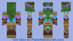 Malfurion Stormrage Minecraft Skin