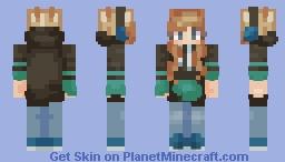 【 gamer girl 】 Minecraft Skin