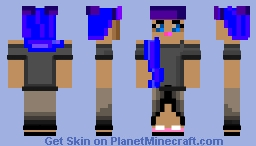 kawaii girl with bangs! Minecraft Skin