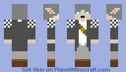 Snow Elf Minecraft Skin