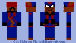 Razor = Swat Kats Minecraft Skin