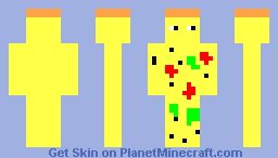 Pizza Minecraft Skin