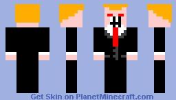 Doanld Trump the Monster Minecraft Skin