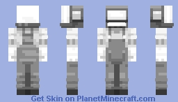 Low ink Minecraft Skin