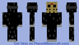 Ski Mask Male Horror Skin Minecraft Skin