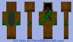Weedian Minecraft Skin