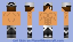 Young Savage Pharaoh Minecraft Skin