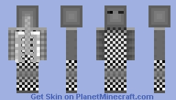 Faded Phantom - Entry for GreyScale Contest Minecraft Skin