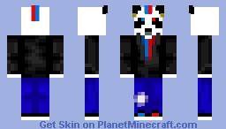 PandaGaming-Rock Concert Minecraft Skin