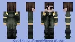 We've been here the whole time. You were asleep. Time to wake up. Minecraft Skin