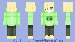 Slimes And Limes Minecraft Skin