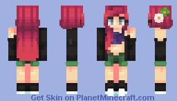 ∎Edgy Ariel∎ Minecraft Skin