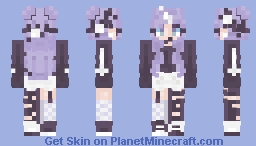 Purple Rain Minecraft Skin