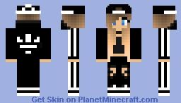 Adidas Trap Queen Minecraft Skin