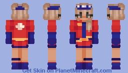 Fortnite - Sun Strider Minecraft Skin