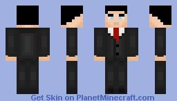 Bruce Wayne (DCAU) Minecraft Skin