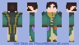 LOTC Mixed Elven Mage Minecraft Skin