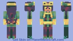(PBL) Tsuyu Asui Minecraft Skin