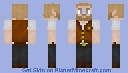 waistcoats are lit Minecraft Skin