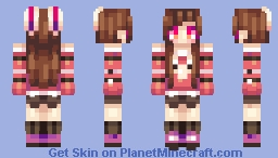 ★♠ค๒คภ๔๏ภ3๔гคเภ♠★ White Rabbit Minecraft Skin