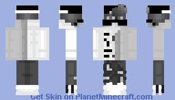 Contest Grey Minecraft Skin