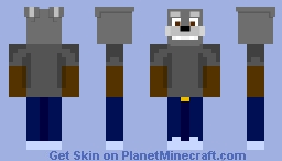 Harvey (aka the child who later is the soul inside Spirit) Minecraft Skin
