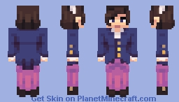 ♡cнaвιlυlυ and ιѕĸey♡ 19th Century Collab Minecraft Skin