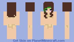 Turtle bikini Minecraft Skin