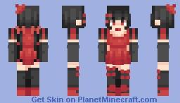 Blood carnival Minecraft Skin