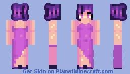 Random ✿ Sorry, purple people only! Minecraft Skin
