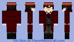 Alucard - Hellsing Minecraft Skin