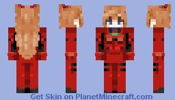 evangelion - asuka langley (alts in desc) Minecraft Skin