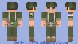 Average American G.I Joe Minecraft Skin