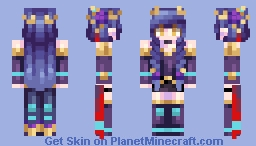 [Kari] Rose Thorn || Prize for CaelChan Minecraft Skin