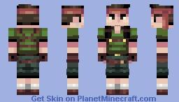 """Biggs """"Final Fantasy VII Remake"""" Minecraft Skin"""
