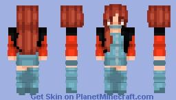 Lisa - Blackpink - Ddu Du Ddu Du Minecraft Skin