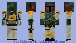 Boba Fett (my most delayed skin yet) Minecraft Skin