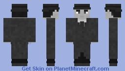 """Rick Blaine -Casablanca- """"We'll Always Have Paris"""" Minecraft Skin"""
