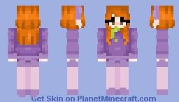Daphne-Scooby Doo Minecraft Skin