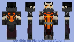 Deathwing the Destroyer Minecraft Skin