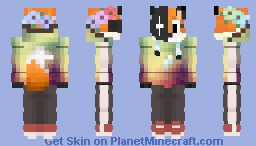 Fox in the Mask Minecraft Skin