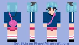 Ramona Flowers Minecraft Skin