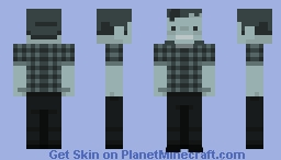 Beaver Cleaver of The Cleaver Family Minecraft Skin
