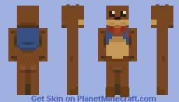"Fred E. ""Bear"" Meyers Minecraft Skin"
