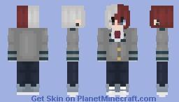 Shoto Todoroki ~ galaxx Minecraft Skin