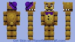 Fredbear - FNaF Minecraft Skin