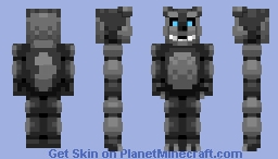 The Wolf - FNaF TTO (The Twisted Ones) Minecraft Skin
